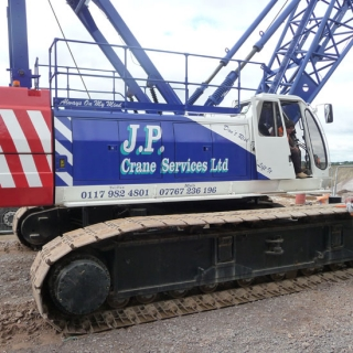 For Sale -  Sumitomo 100T SC1000-2 Crawler Crane